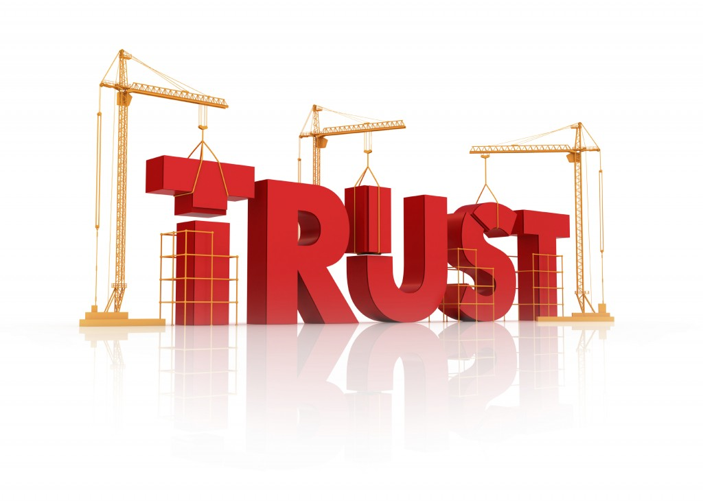building trust and credibility with your customers great people inside