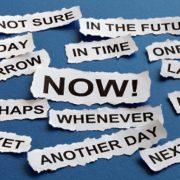 dealing with procrastination